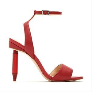 Katy Perry The Ink Red Crayon High Heel Sandals